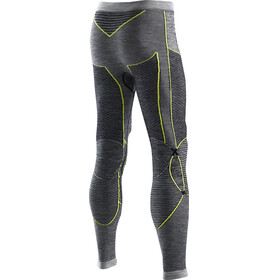 X-Bionic Apani Merino By X-Bionic Uw Pants Long Man Black/Grey/Yellow